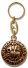 Keychain SIEGEL DER TEMPLAR Gold-Optik