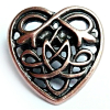 Brosche CELTIC HEART AB