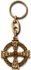 Keychain CELTIC CROSS Gold-Optik