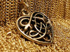 CELTIC HEART 24ct
