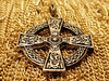 CELTIC CROSS 24ct