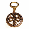 Keychain CELTIC WEDDING KNOT 24ct