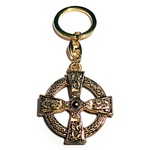 Keychain CELTIC CROSS 24ct