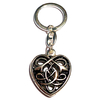 Keychain CELTIC HEART 925