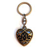 Keychain CELTIC HEART AM