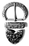 TEUTONIUS BUCKLE-SET 925 AS