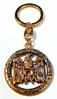 Keychain GERMANENWAPPEN 24ct
