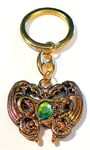 Keychain DRAGONHEART GREEN 24ct