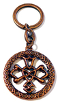 Keychain CELTIC WEDDING KNOT AB