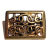CELTIC RECTANGLE ZN 24ct