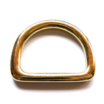 Solid D-RING-38 24ct