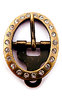 OVAL STAR RIVET BUCKLE AM