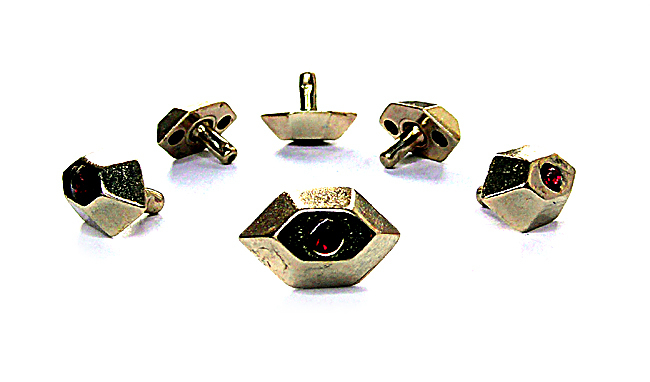 HEXAGON STAR ZN 24ct, 6 pieces bulk